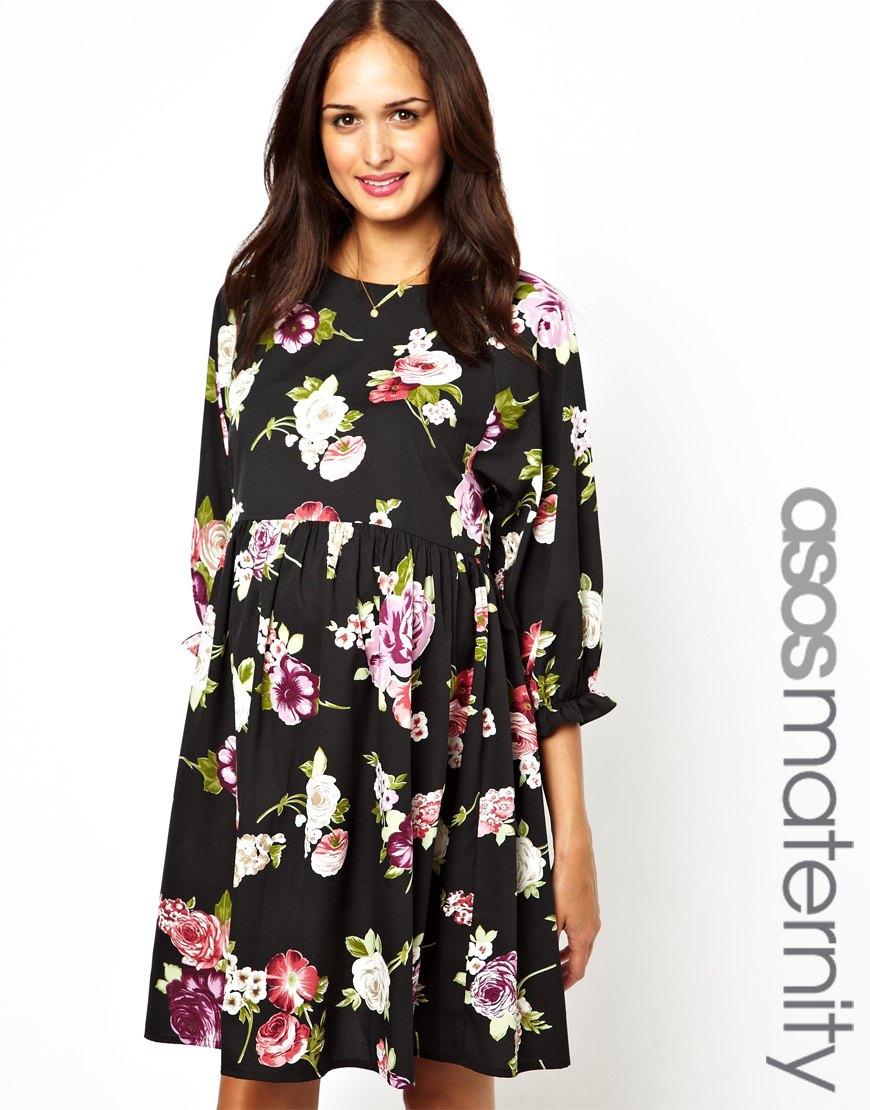 Floral Maternity Dress Asos