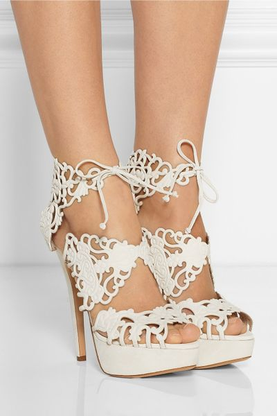 Charlotte Olympia Belinda Cut Out Sandals