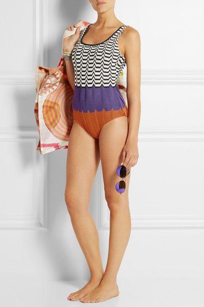 missoni crochet swimsuit