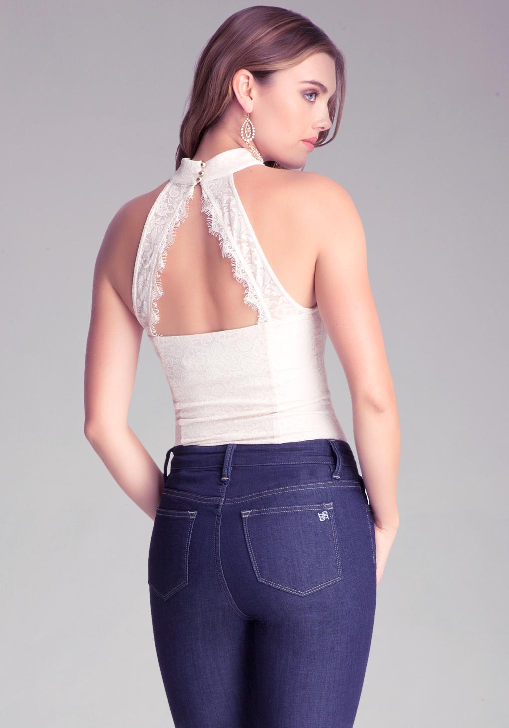 Lyst Bebe Lace Open Back Dress In Black - Modern Home Revolution f857726c3