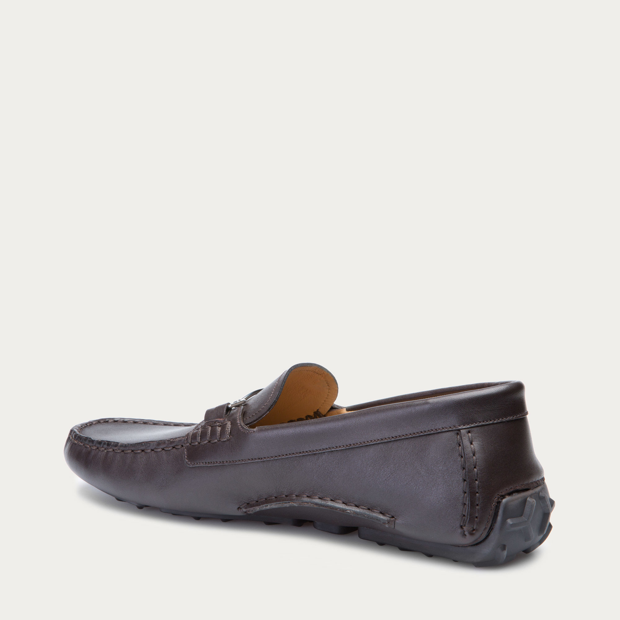 Bally Drintal Leather Driving Shoes In Black For Men