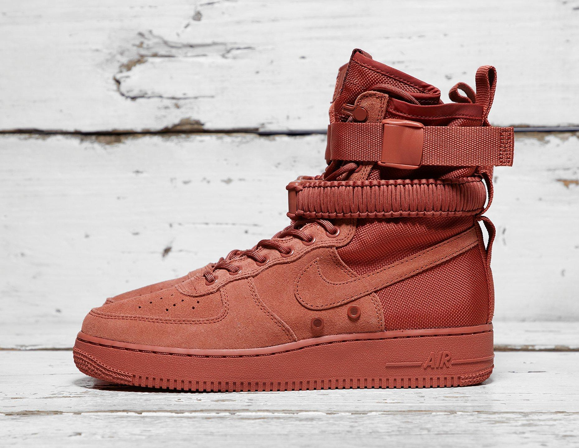 Lyst Nike Sf Air Force 1 In Red For Men