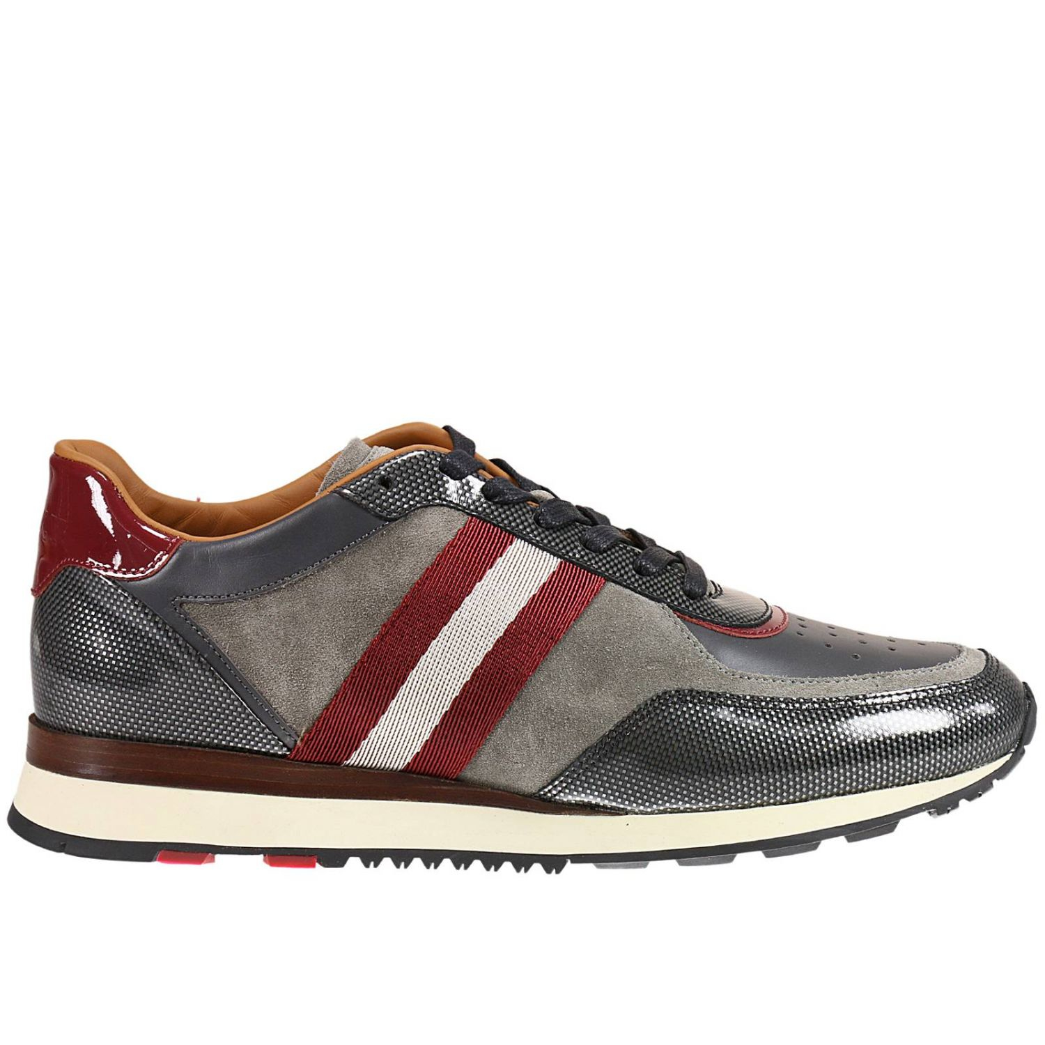 Bally Sneakers Shoes Man In Brown For Men