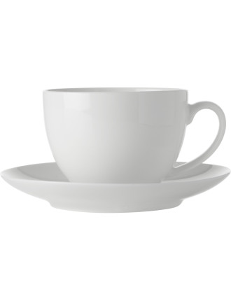 Maxwell & Williams White Basics New Cup & Saucer 280Ml