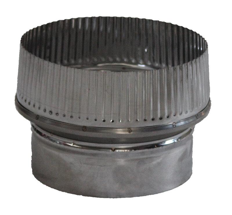 stainless steel pellet stove flue pipe increaser o80 130