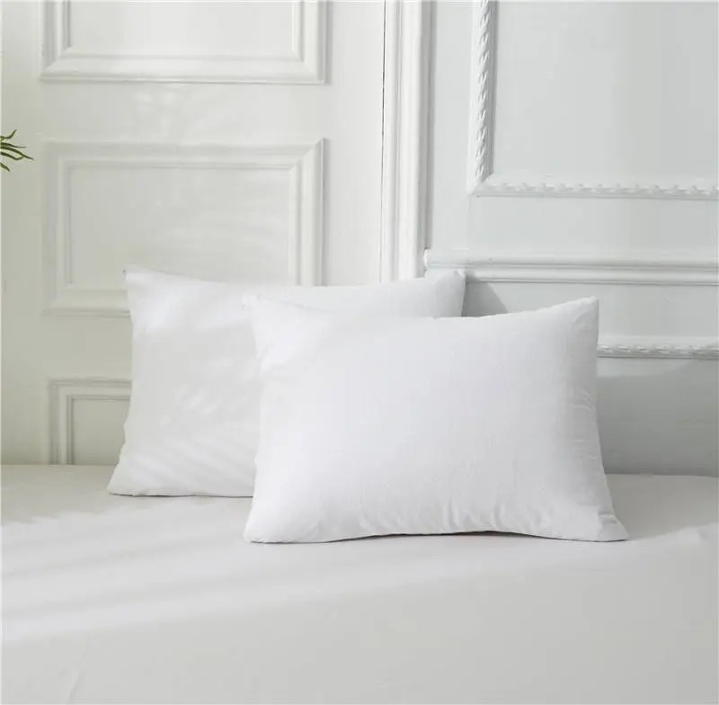 polyester terry pillow protector
