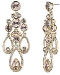 Givenchy Drama Chandelier Crystal Earrings Lyst