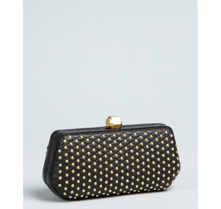 Rebecca Minkoff Studded Leather Fling Convertible Box