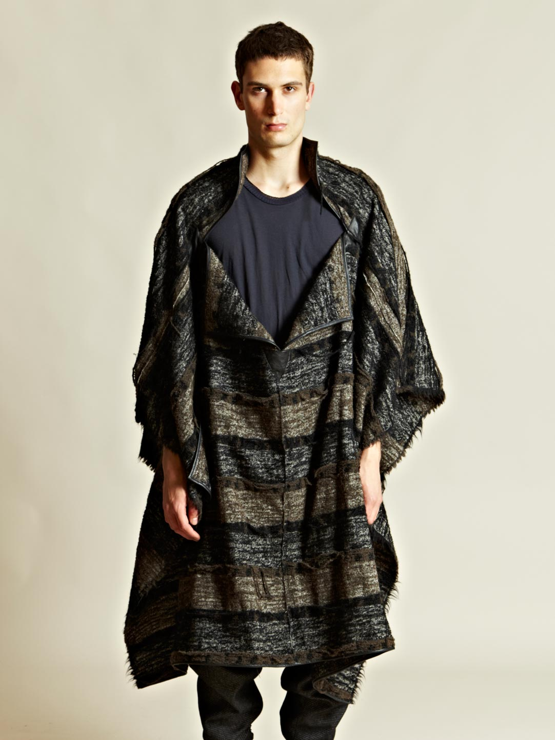 Green Damir Doma Mens Carlana Cape