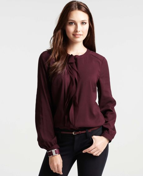 %name Plum Colored Blouses