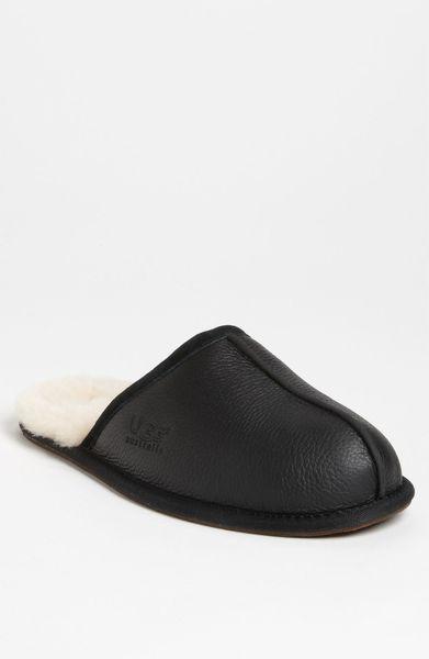 men;s ugg australia scuff house slippers | mount mercy university