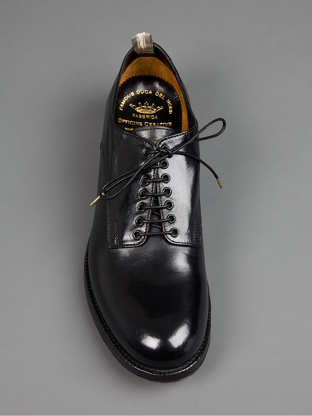 Lyst Officine Creative Officine Creative Far Gone Derby Shoe In Black For Men