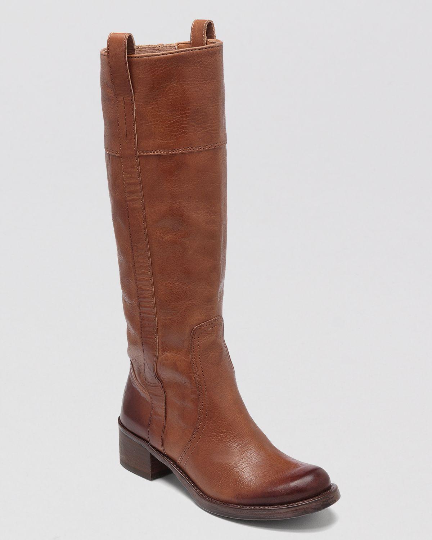 Dark Brown Flat Boots