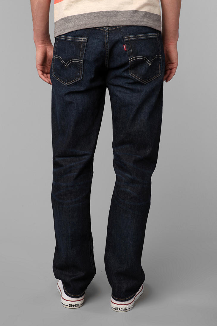 Lyst Urban Outfitters Levis 504 None More Blue Jean In