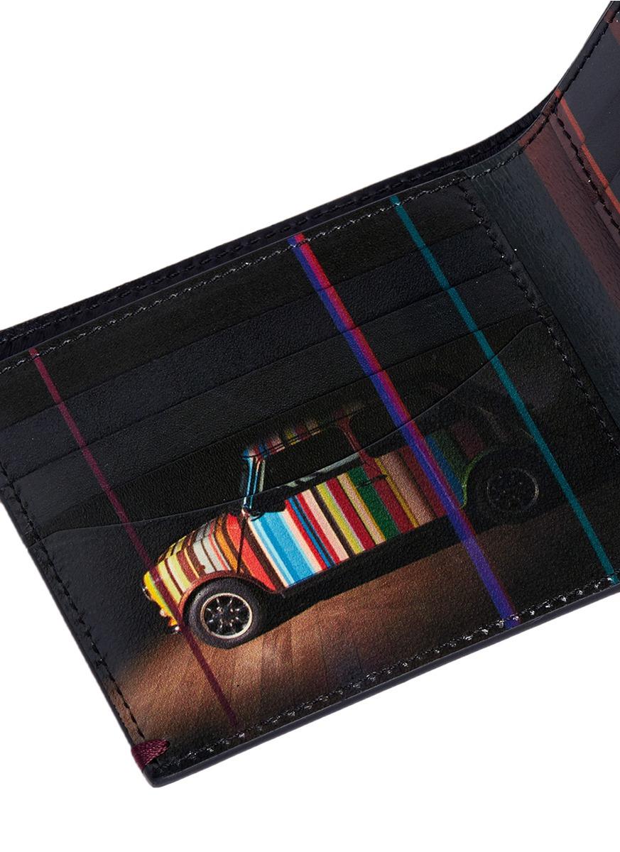 Lyst Paul Smith Mini Graphic Edge Print Interior Bi
