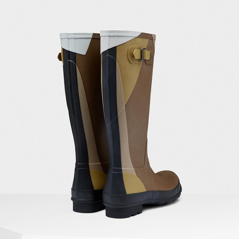 Tall Light Brown Boots