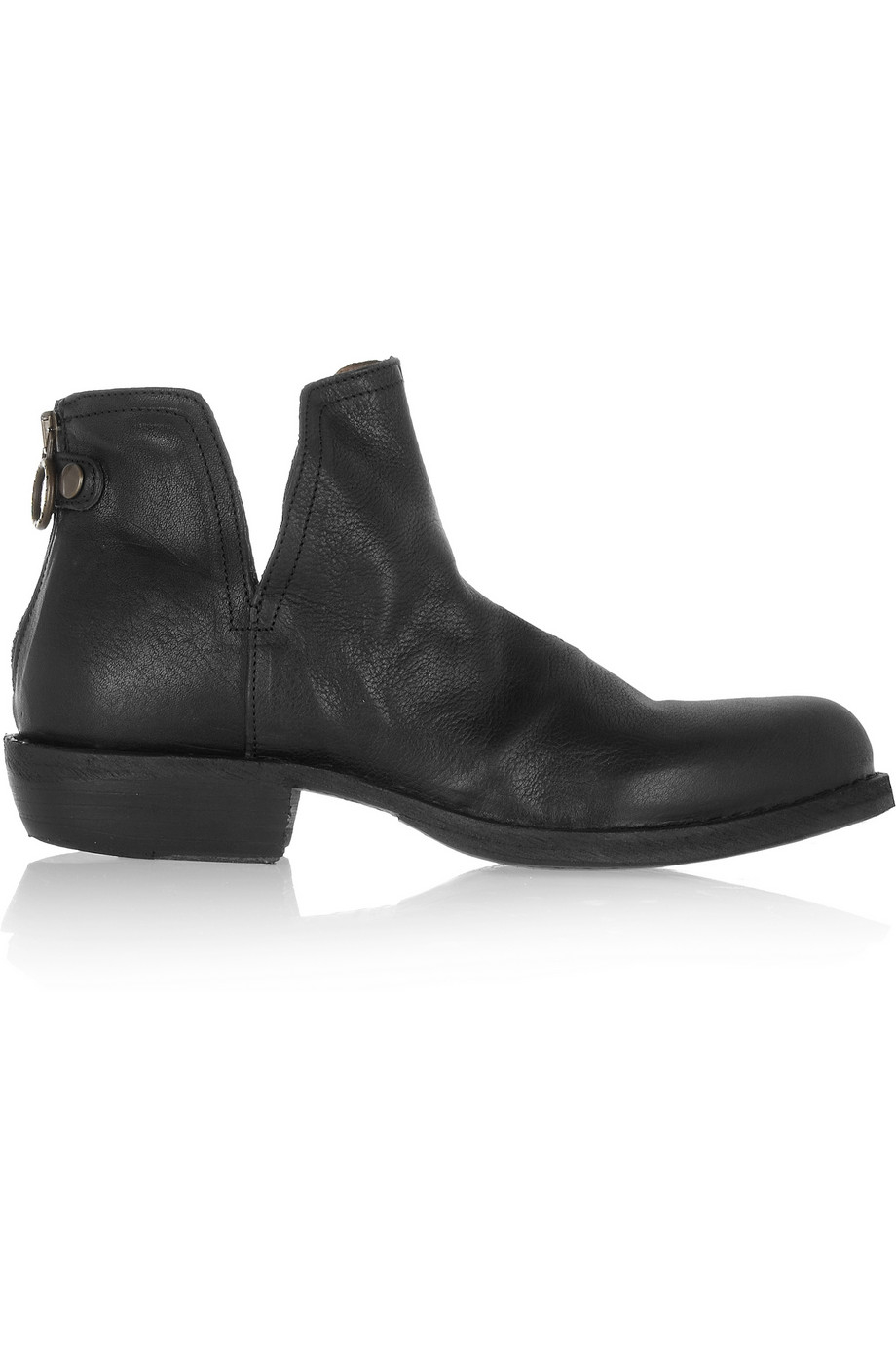 Fiorentini Baker Camy Carnaby Leather Ankle Boots In