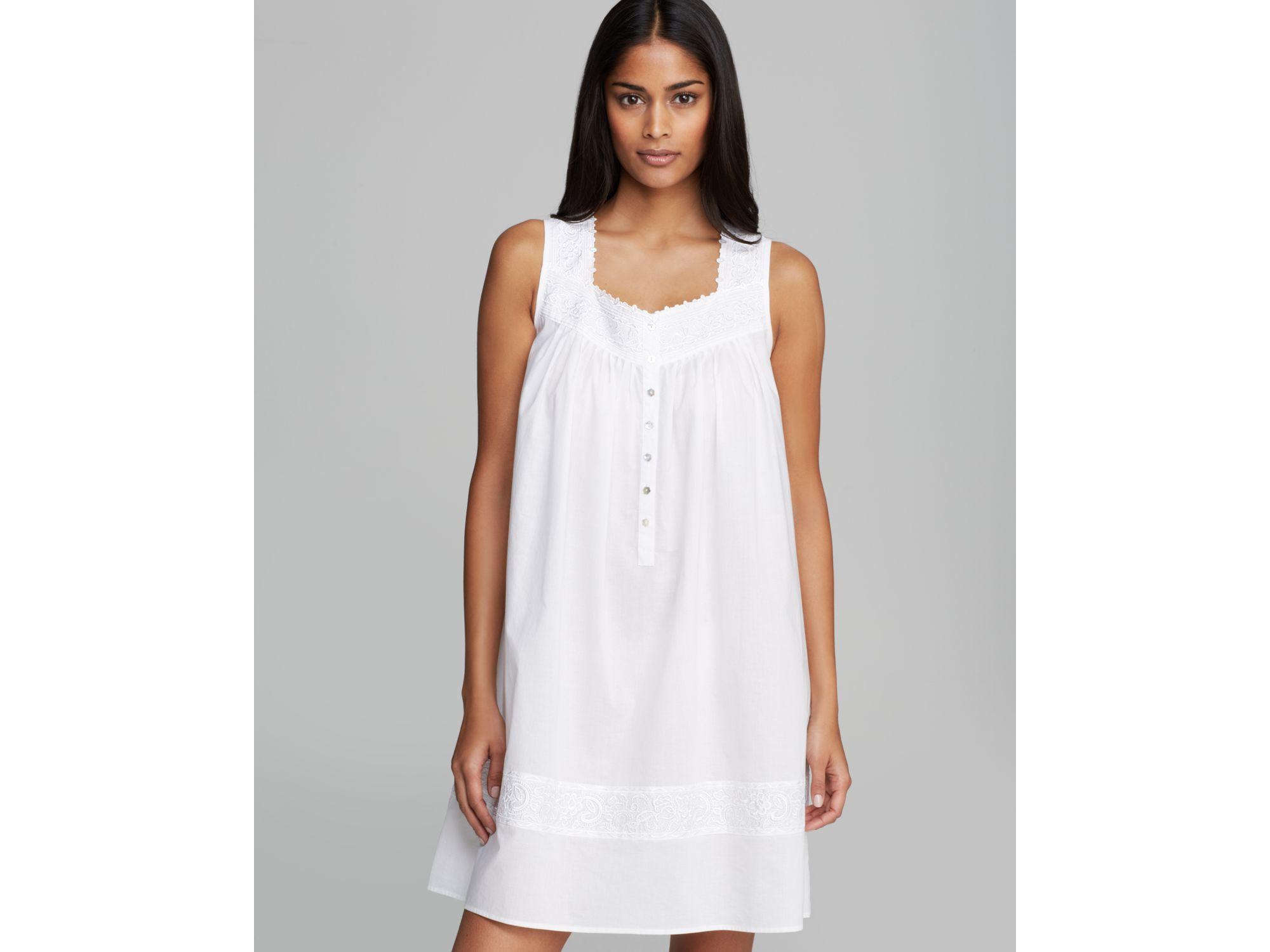 Lyst Eileen West Short Nightgown Bloomingdales