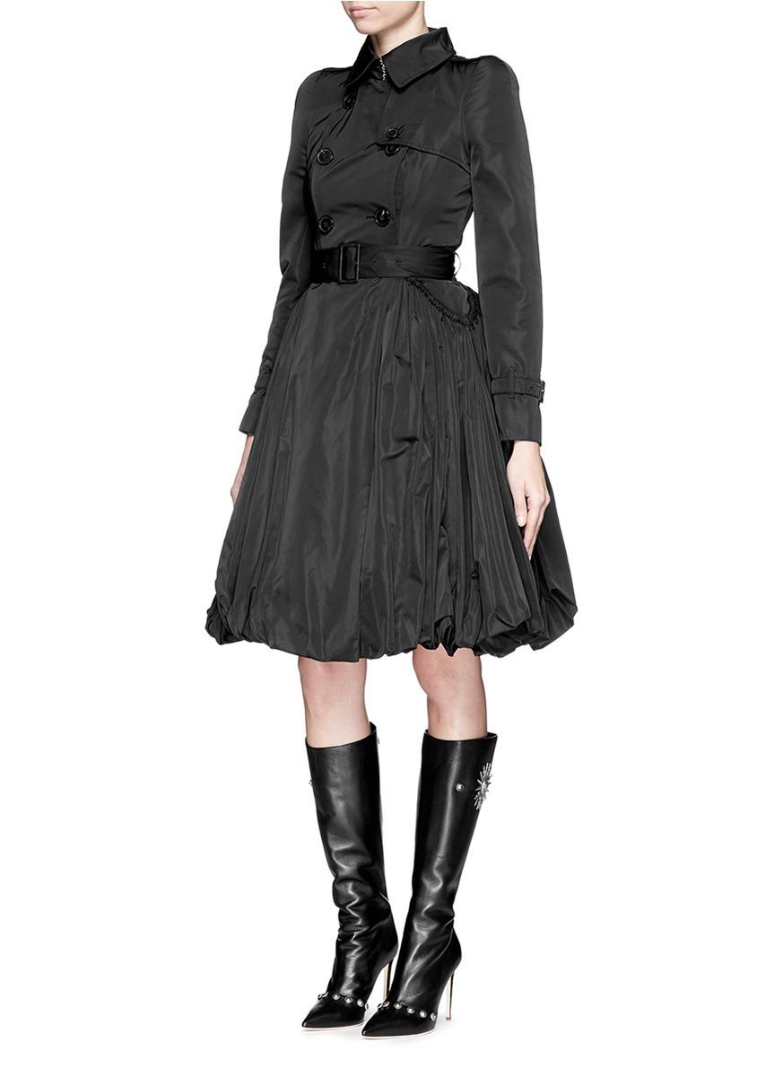 Calvin Klein Pleated Coat
