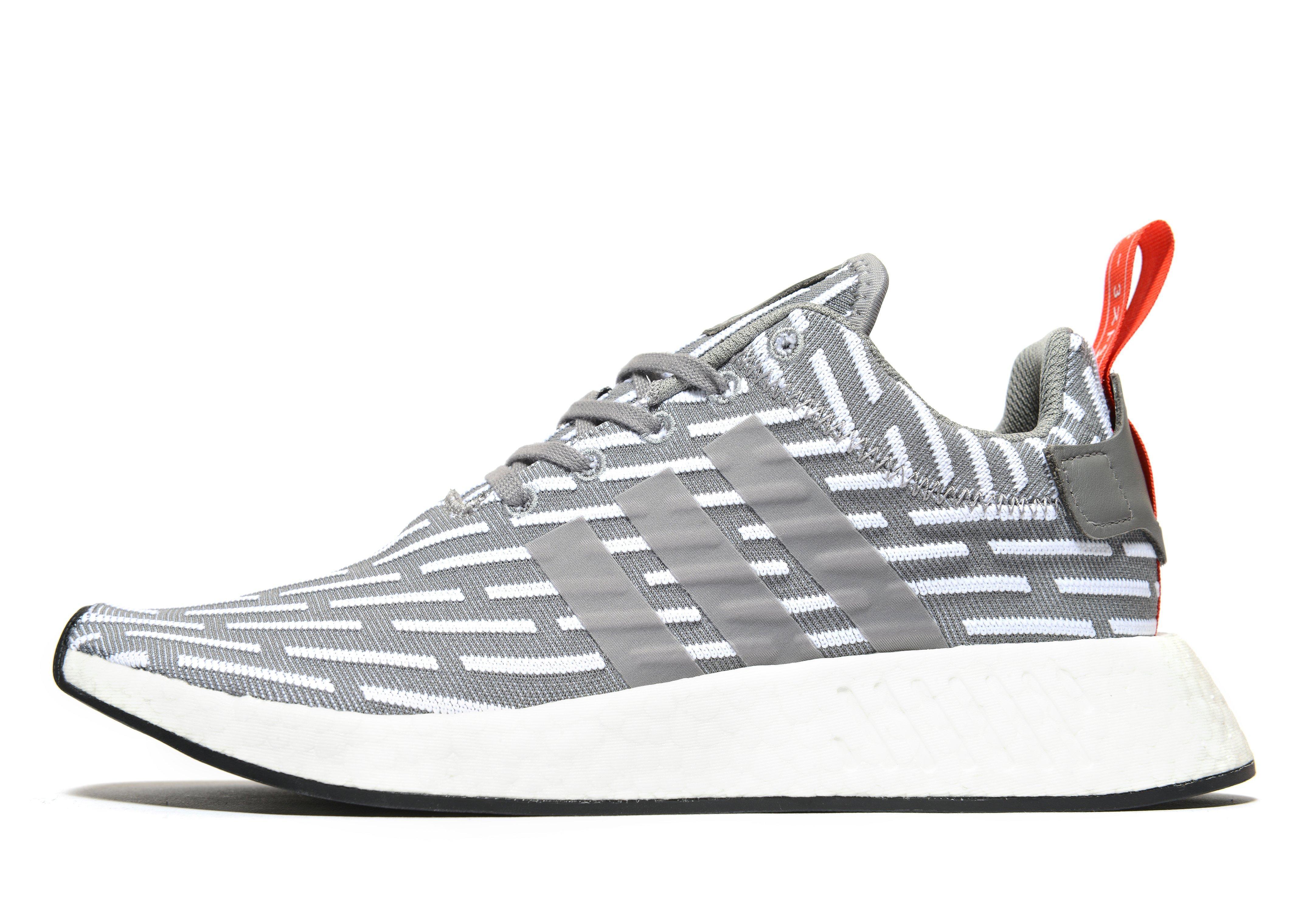 Adidas Originals Nmd R2 In Gray For Men