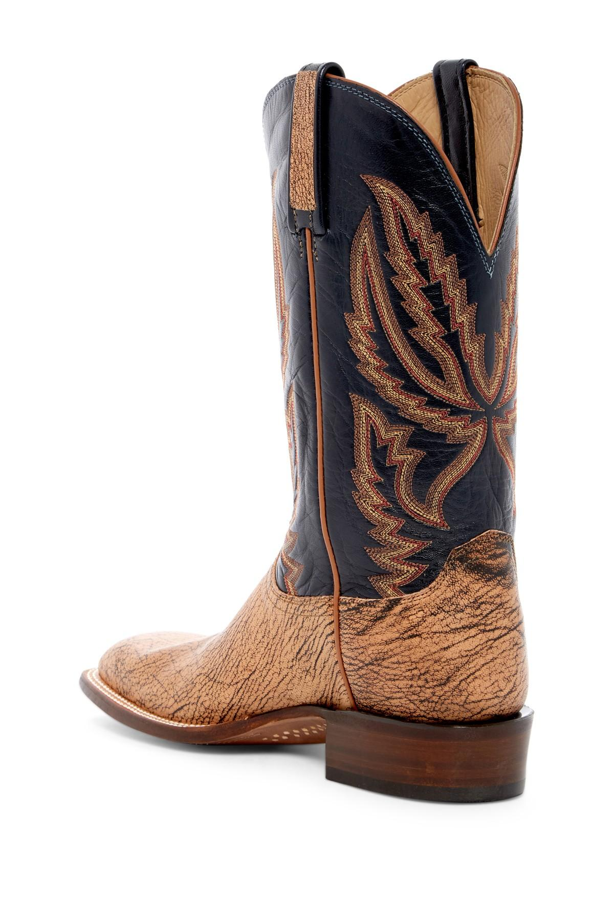 Brown Boot Desert Lace