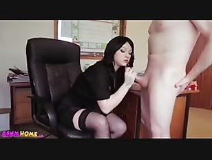 Boss Lady Gives Great Blowjob