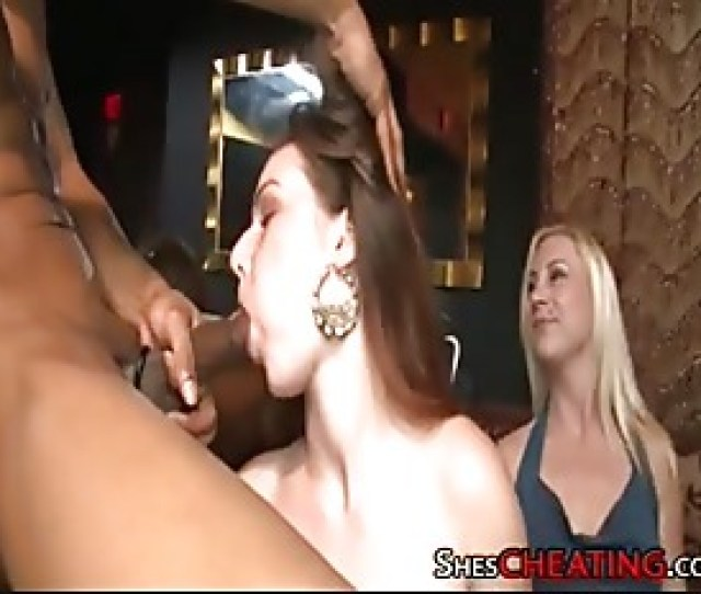 Male Stripper With Big Dick Gets Cock Sucking At Bachelorette Party