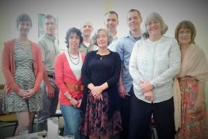 Jan Reed and her Centering Prayer Group
