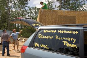 United Methodists are always ready to respond to need.