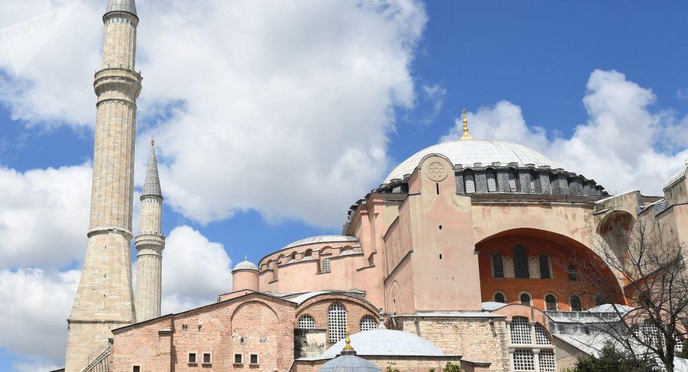 Ankara répond aux critiques de l'UE concernant le statut de la basilique Sainte-Sophie