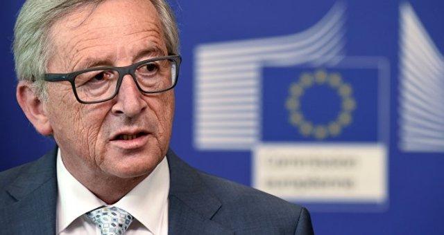 Le président de la Commision européenne Jean-Claude Juncker