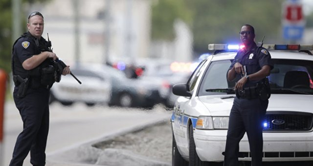 US Police officers. (File)