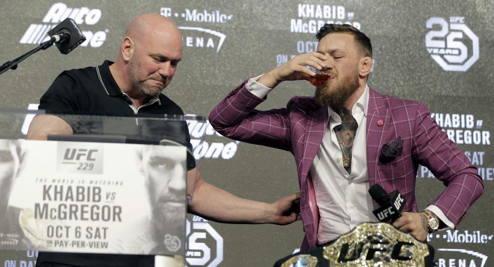 Le président de l'UFC donne un conseil à Conor McGregor