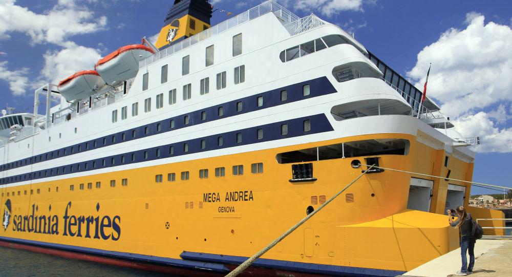 Des passagers d'un ferry corse se battent avec l'équipage pour un problème de place - vidéo