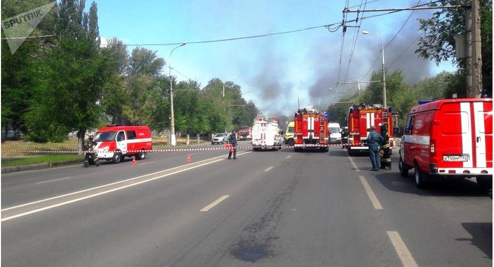 Une station-service explose à Volgograd, au moins 13 blessés - vidéos