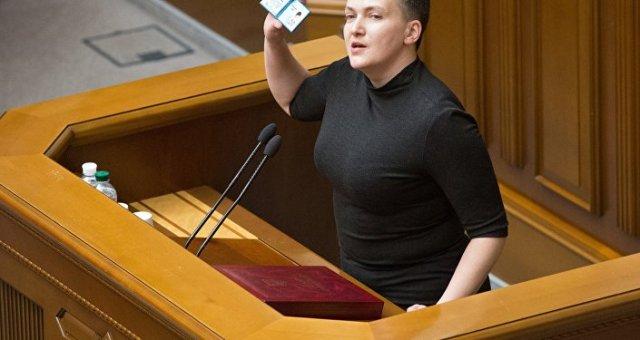 La députée ukrainienne Savtchenko avant son arrestation