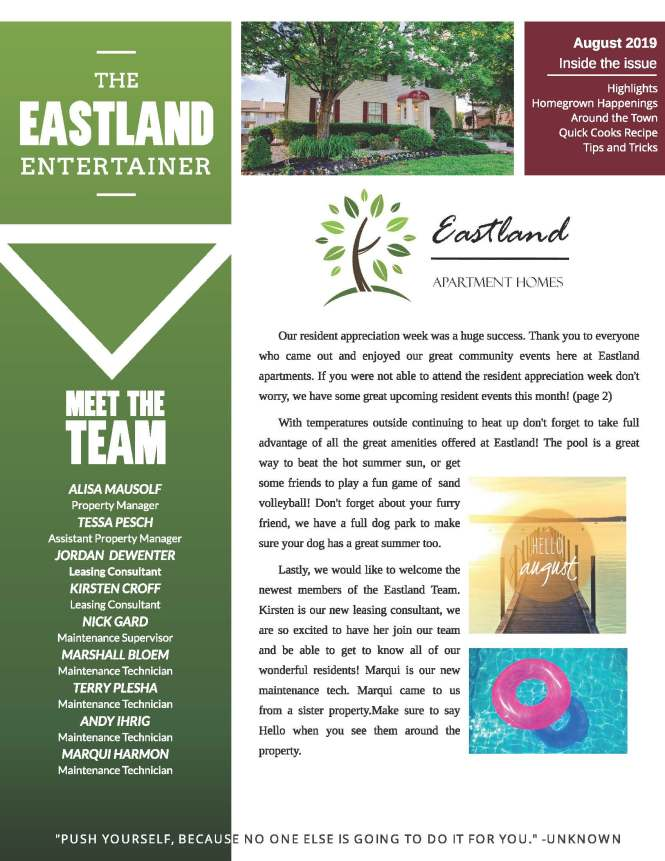 The Eastland Apartments Community