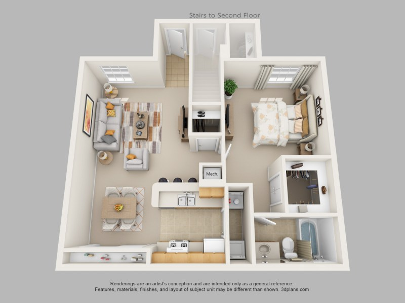 Floor Plans   Riverside Apartments   Concord Rents   Concord     One Bedroom One Bath Floor Plan 1
