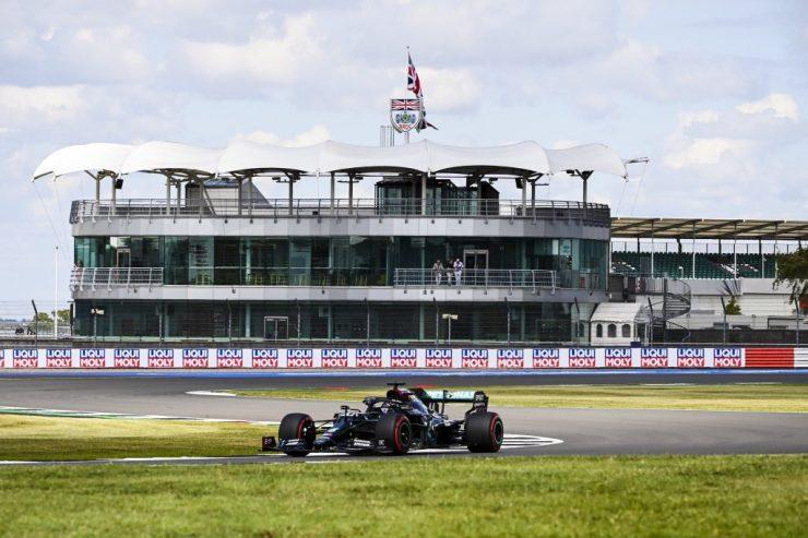 Lewis Hamilton, GP da Inglaterra 2020,