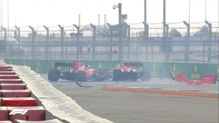 Vettel, Leclerc, GP da Rússia 2020,
