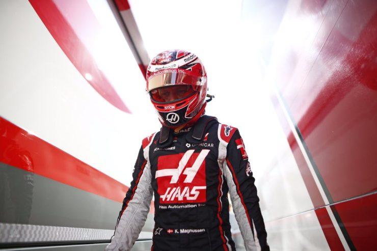 Haas, Magnussen,