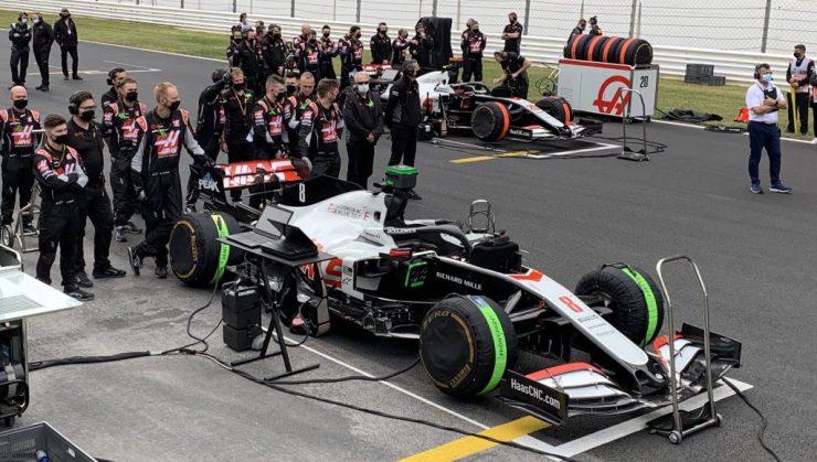 Grosjean, Magnussen, Haas, F1 2020