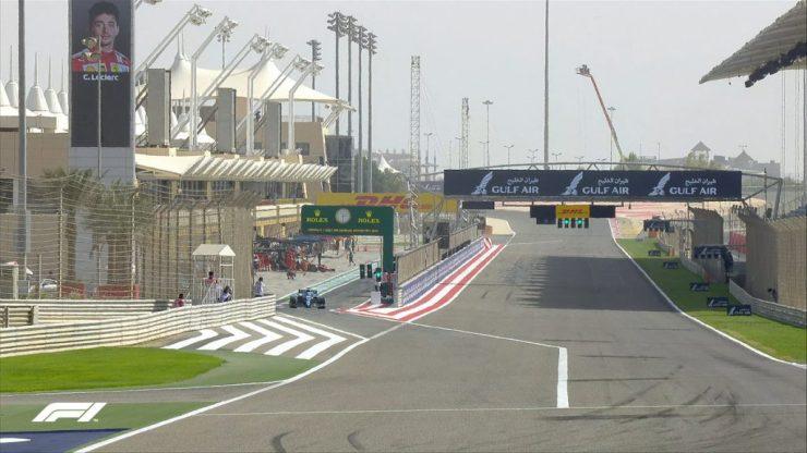 GP do Bahrein 2021, treino livre 1,