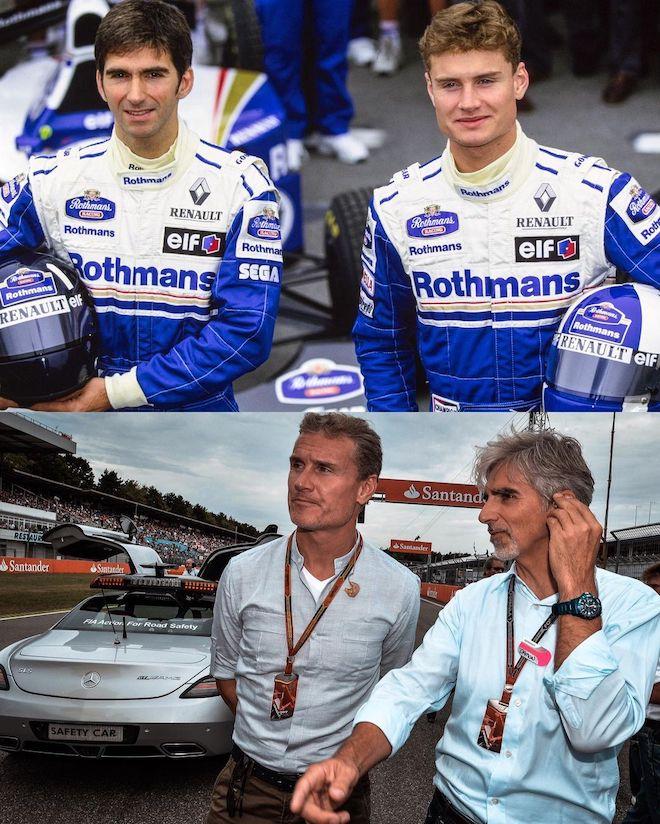 David Coulthard, Damon Hill,