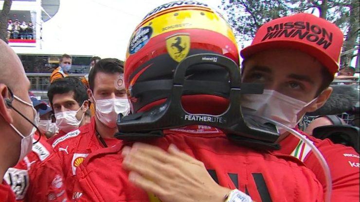 GP de Mônaco 2021, Carlos Sainz, Ferrari, Charles Leclerc