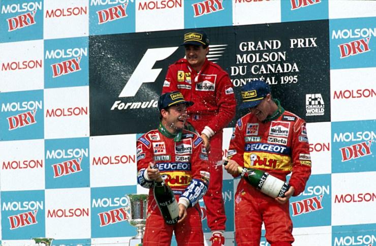 PÓDIO; GP DO CANADÁ; 1995