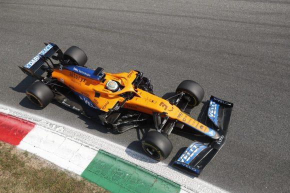Ricciardo teve um desempenho impecável em Monza (Crédito: reprodução / Twitter / @McLarenF1)
