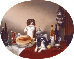 The Pets and the Materials, (c. 1860)