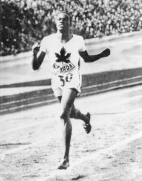 "The ""Man of Bronze"" and one of Canada's most decorated Olympians, Edwards won bronze in the 800m race in 1936. He was one of the few black athletes to represent Canada during the 1920-30s. Earlier that year, he was also the first black person to graduate from McGill's medical school."