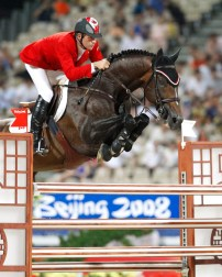 Eric Lamaze and his horse Hickstead took home gold in Individual jumping at the 2008 Beijing Games.